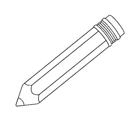 colored pencil coloring pages pencil ii coloring page coloringcrew