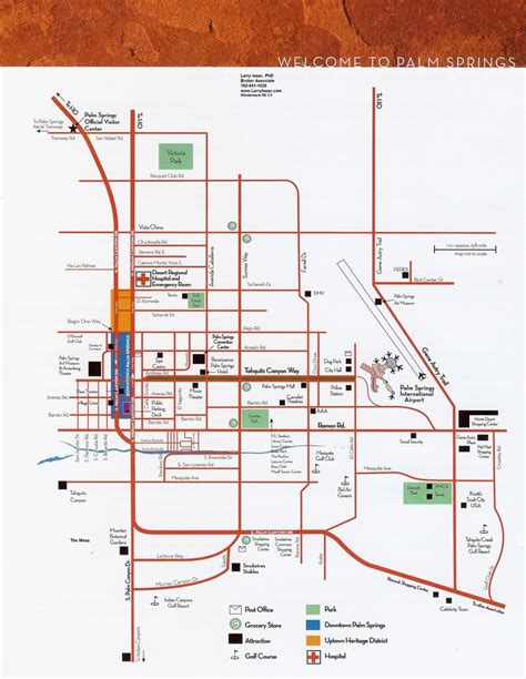 palm springs map palm springs map palm springs