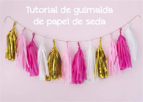 como hacer una guirnalda con circulos de papel moldes y patrones c 243 mo hacer guirnaldas de papel de seda postreadicci 243 n