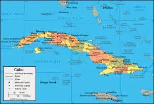cuba map caribbean sea south atlantic gulf of mexico