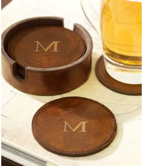 cool drink coasters saddle leather drink coasters traditional coasters