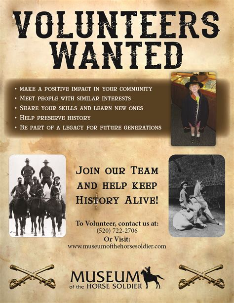 volunteers wanted poster template volunteer museum of the soldier