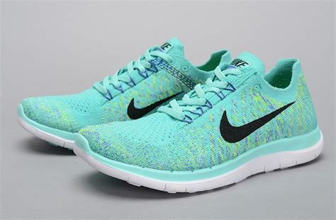 mint green nike sneakers nike flyknit 4 0 womens running shoes mint green nike
