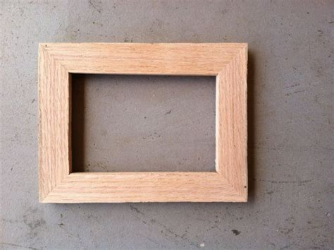 Handcrafted Picture Frames - 4x6 wood picture frame handmade