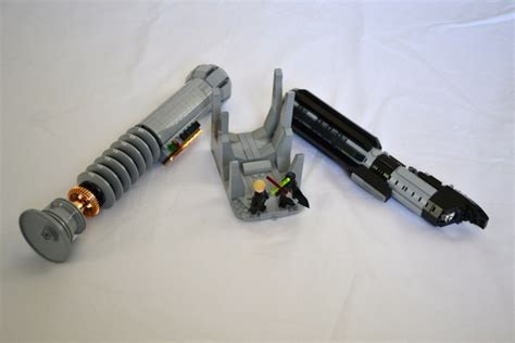 Life Size Chess by Lego Ideas Lego Lightsabers Darth Vader And Luke Skywalker