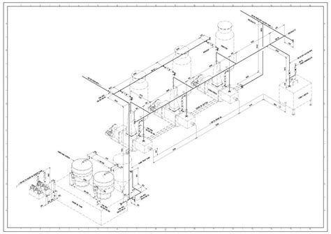 isometric piping diagram piping isometric 3d cad model grabcad