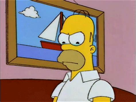 imagenes sad simpsons sad homer simpson gif find share on giphy
