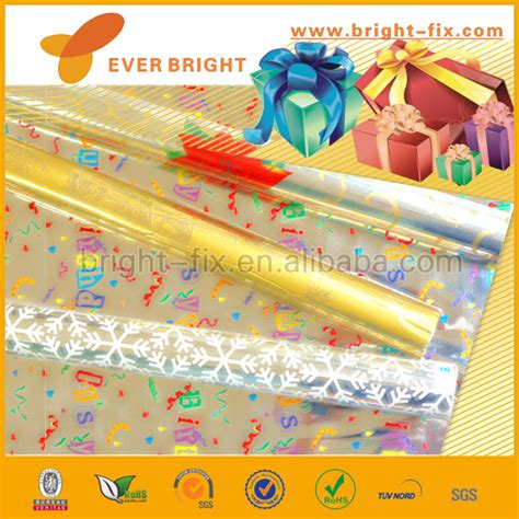 plastic gift wrapping paper gift wrapping foil gift wrapping paper clear plastic gift