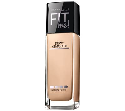 Maybelline Fit Me Dewy And Smooth best drugstore foundation for skin part 3