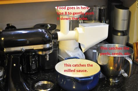 Kitchen Aid Food Mill How To Set Up A Kitchenaid Food Mill Attachment 171 Eatlocal365