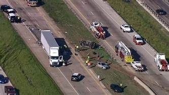 Accidents In Tx One Dead Following 18 Wheeler Crash On I 30 In Fate