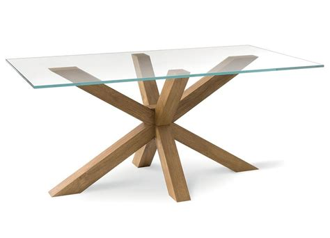 tavolo soggiorno vetro tavolo moderno con piano in vetro per soggiorno idfdesign