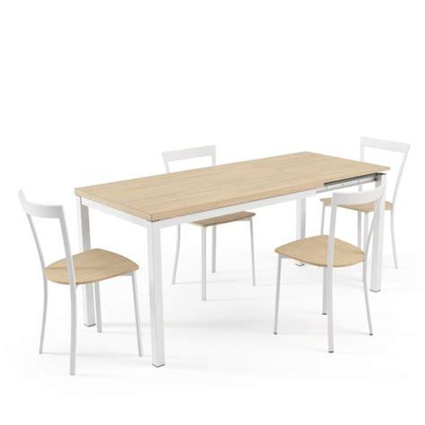 Délicieux Cuisine Avec Table Integree #1: table-cuisine-rallonge-melamine-hauteur-75-cm-toy-metal.jpg