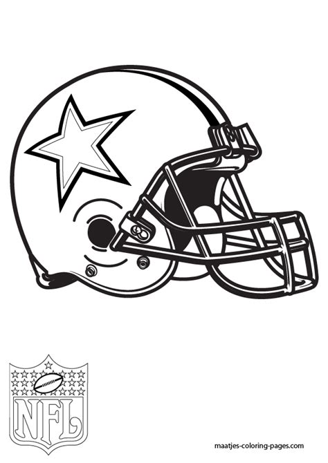 cowboys logo coloring pages myideasbedroom com