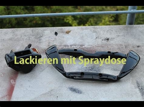 Youtube Motorrad Lackieren by Lackieren Spraydose Kunstoff Tutorial Diy Youtube