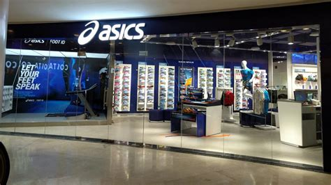 asics opens its second franchise store in delhi ncr