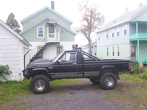 1986 jeep comanche black comanche13440 1986 jeep comanche regular cab specs photos