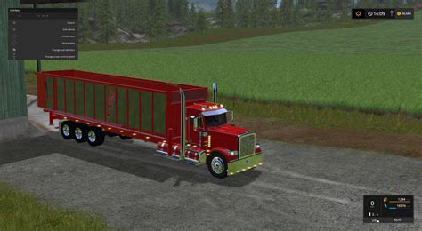 Handcrafted Ls - tipper bed for my peterbilt 388 custom v1 ls 17 farming