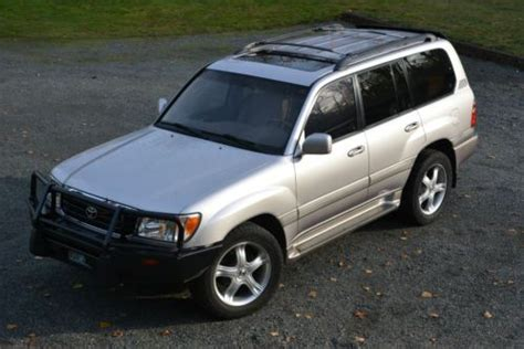 Bothell Toyota Specialists Purchase Used 2001 Toyota Land Cruiser Suv 4 Door 4 7l V8