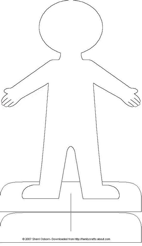 person template preschool paper doll accessories dolls bodies and printable paper