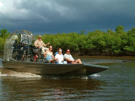 fan boat everglades national park 1 taking on the everglades the airboat ride captain
