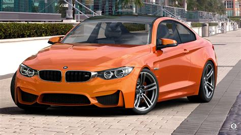 Bmw Orange by Bmw M4 Orange By Dangeruss On Deviantart