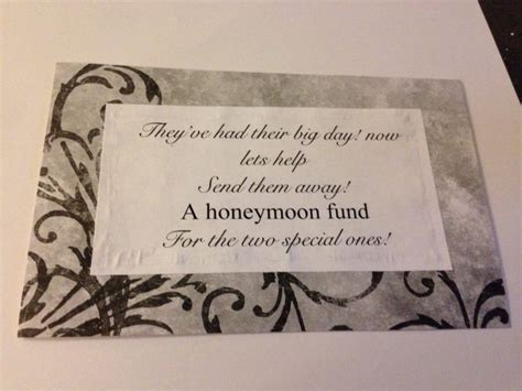 Wedding Registry For Honeymoon Fund by 30 Best Images About Bridal Shower On Bridal