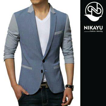 Desain Jas Blazer Couple | jual blazer blue sky jas semi formal model terbaru