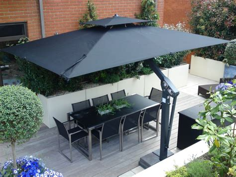 10 Ft Cantilever Patio Umbrella Poggesi Piazza Large Umbrella From Samson Awnings