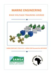 high voltage course for marine engineers marine engineering courses textbooks south africa