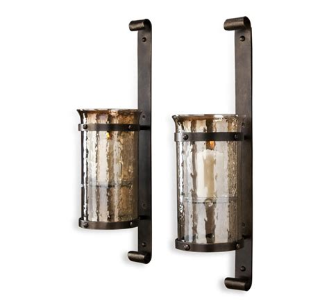 industrial wall sconce large candle wall sconces sconce modern industrial pipe