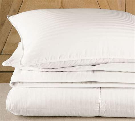 duvet comforter insert classic down duvet insert pottery barn