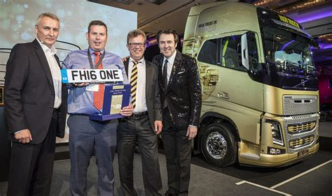 manfreight successfully bids for volvo fh16 750 limited edition truck commercial motor