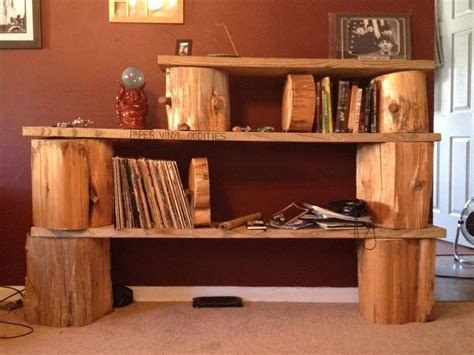 Tree Trunk Shelf by Log Shelves Bring A Of Nature Into Your Home