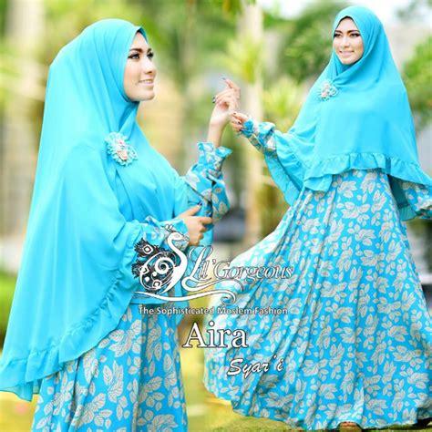 Busana Muslim Gamis Syar I kumpulan busana muslim gamis syar i wanita model terbaru