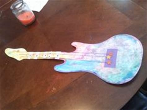 Paper Guitar Craft - 1000 images about rockstar ideas on guitar