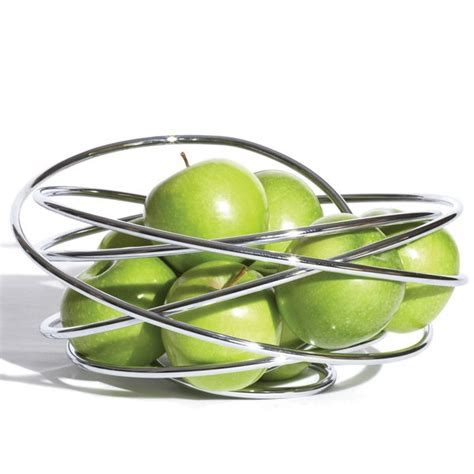 modern fruit bowl black blum fruit loop bowl contemporary fruit bowls