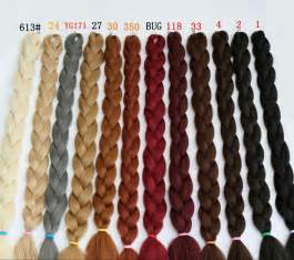 braiding hair colors 165g synthetic braiding hair extensions twists 82 purple