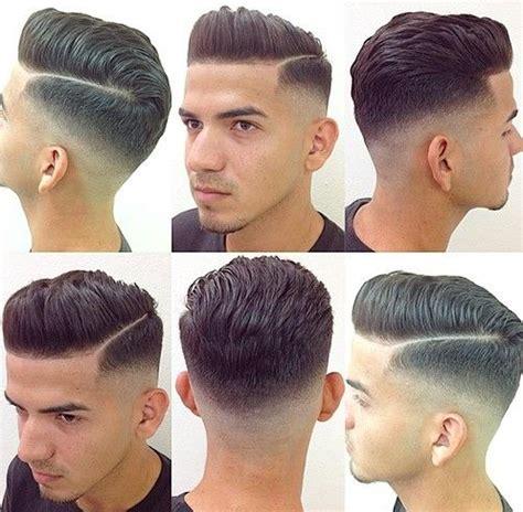 model rambut pria depan belakang samping contoh model