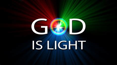 god from god light from light the god is revealed by light for god is light