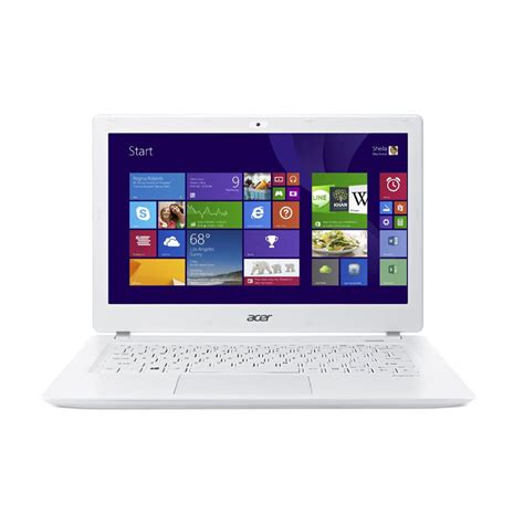 Laptop Acer Putih jual acer aspire v3core i5 win 8 putih notebook 13 inch ci5 5200u 4 gb harga