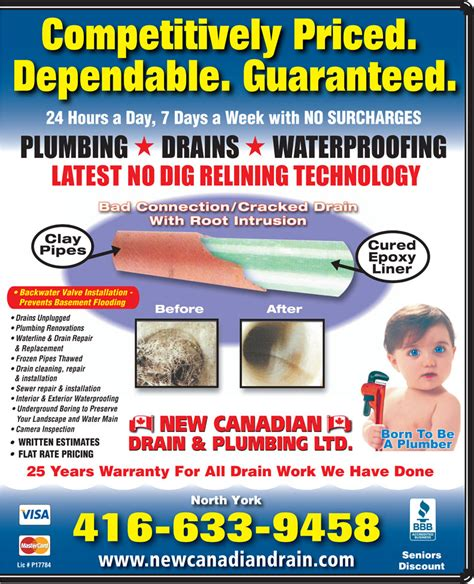 New Canadian Drain And Plumbing by Thanks