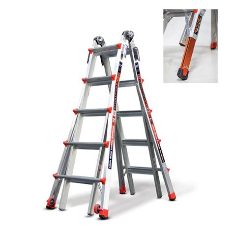 revolution 22 ladder with ratchet levelers power sales product catalog