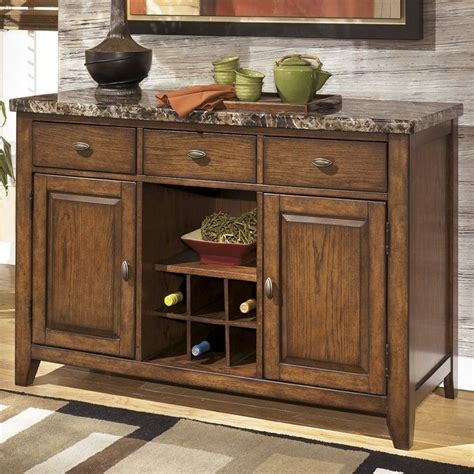 server dining room signature design by ashley furniture lacey dining room server in medium brown 521726