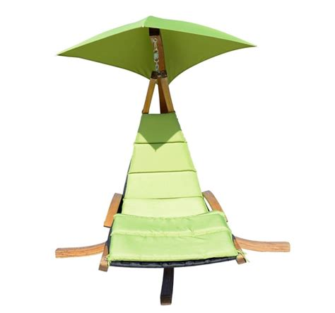 Hanging Canopy Chair by Hanging Chaise Lounger Air Porch Hammock Swing Chair