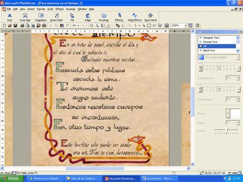 libro sombras en el tiempo libro de las sombras en castellano aqui la web foros embrujadas