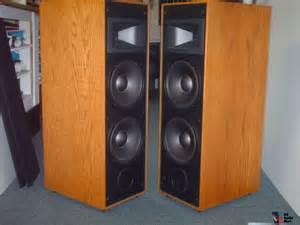 Polk Audio Bookshelf Speaker Klipsch Kg 5 5 Speakers Excellent Condition Photo 550626