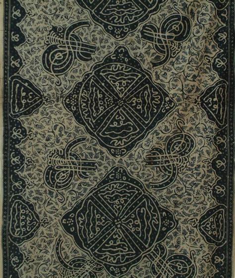 design batik jambi kain kaligrafi jambi sumatra indonesia 20th century