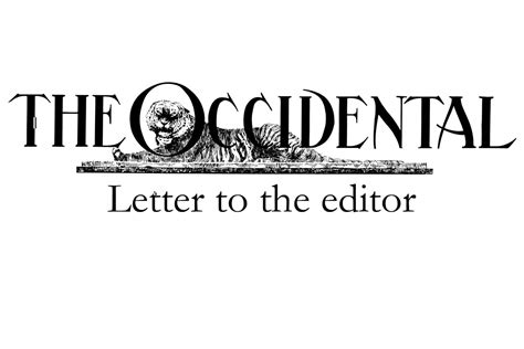 Letter To The Editor Tal Becker Is An Inappropriate Jack