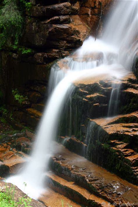 rodrick s guide to vermont waterfalls cascades gorges books avalanche falls in flume gorge grafton county new hshire